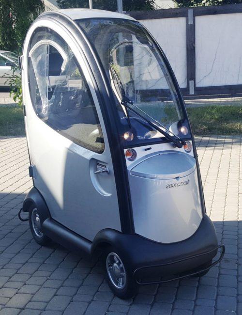 Pojazd elektryczny inwalidzki Shoprider Maxi Cab z NOWYMI bateriami!!!!Gwarancja