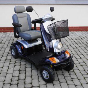 Skuter, pojazd elektryczny KYMCO XLS  nowe oponki