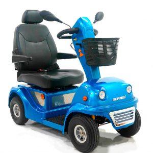Nowe elektryczne skutery inwalidzkie